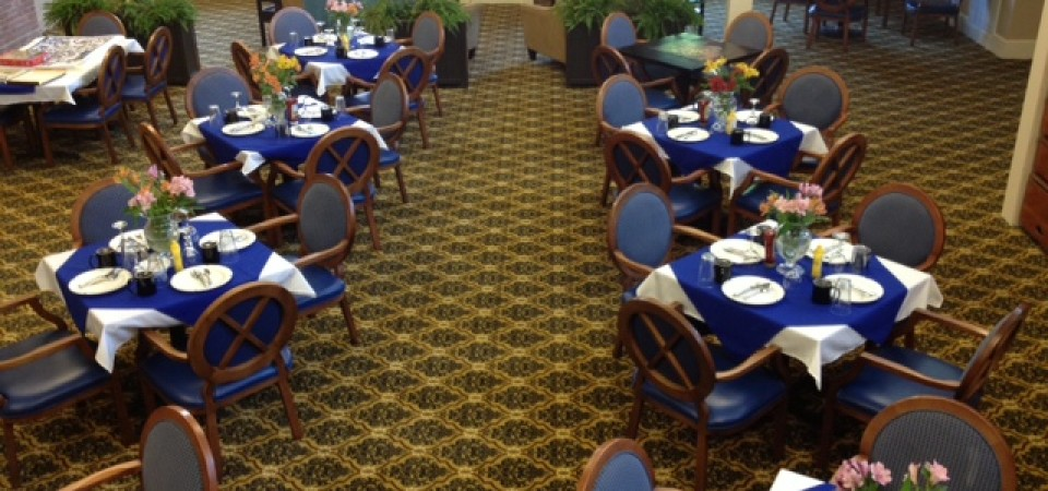 The Dining Room at Champlain Valley Senior Community